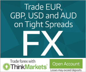 Think forex account types